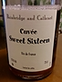 Bainbridge and Cathcart Cuvée Sweet Sixteen