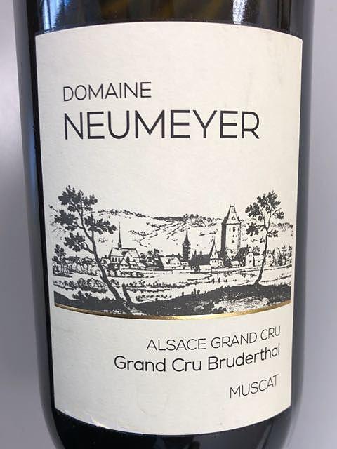 Dom. Neumeyer Grand Cru Bruderthal Muscat(ドメーヌ・ヌーメイヤー グラン・クリュ ブリュデルタール ミュスカ)