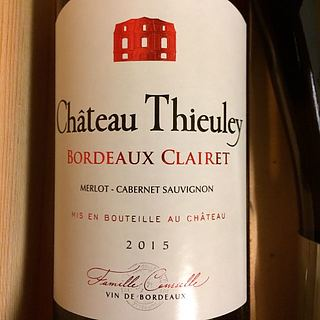 Ch. Thieuley Bordeaux Clairet