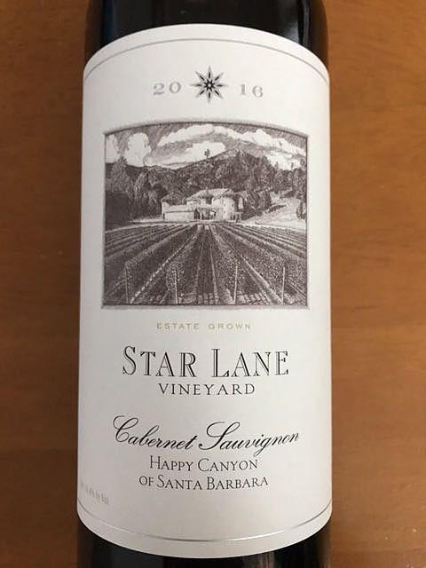 Star Lane Cabernet Sauvignon Happy Canyon(スター・レーン カベルネ・ソーヴィニヨン ハッピー・キャニオン)