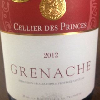 Cellier des Princes Grenache