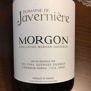 Dom. de Javernière Morgon