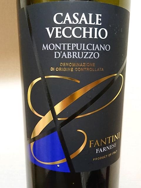 Casale Vecchio Montepulciano d'Abruzzo(カサーレ・ヴェッキオ モンテプルチャーノ・ダブルッツォ)