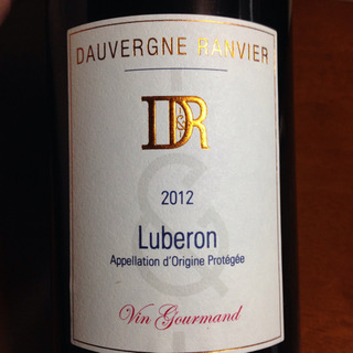 Dauvergne Ranvier Luberon Vin Gourmand Rouge