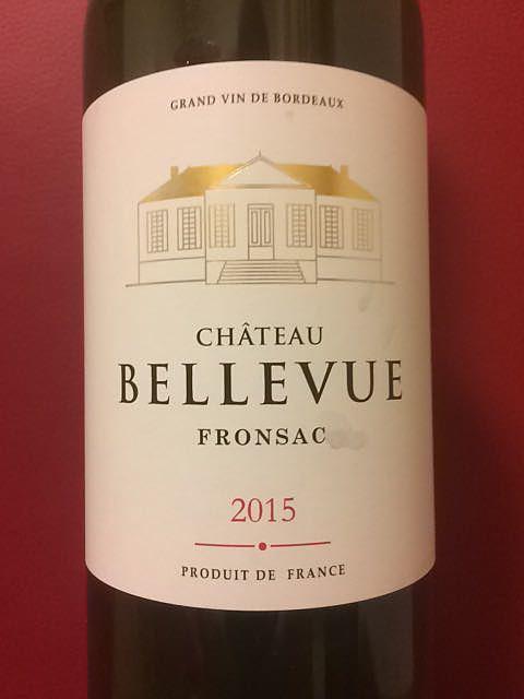Ch. Bellevue Fronsac