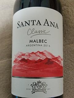 Santa Ana Classic Malbec(サンタ・アナ クラシック マルベック)
