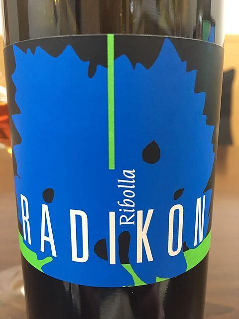 Radikon Ribolla Gialla(ラディコン リボッラ・ジャッラ)