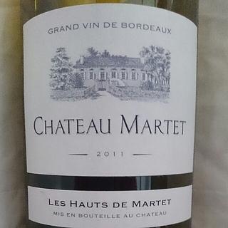 Ch. Martet Les Hauts de Martet