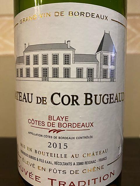 Ch. de Cor Bugeaud Cuvée Tradition Rouge(シャトー・ド・コール・ブジョー キュヴェ・トラディション ルージュ)