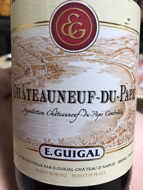 E.Guigal Châteauneuf du Pape Rouge(E. ギガル シャトーヌフ・デュ・パプ ルージュ)