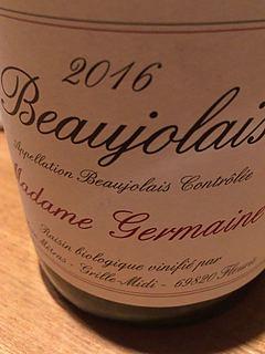 Dom. Yvon Métras Beaujolais Madame Germaine(ドメーヌ・イヴォン・メトラ ボージョレ)