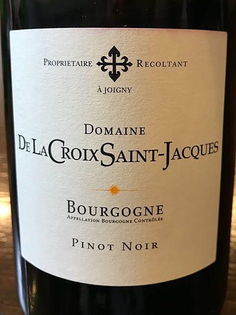 Dom. de La Croix Saint Jacques Bourgogne Pinot Noir(ドメーヌ・ド・ラ・クロワ・サン・ジャック ブルゴーニュ ピノ・ノワール)