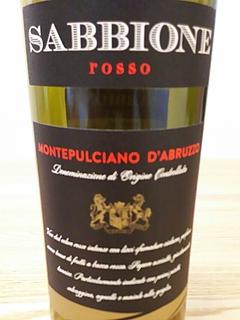 Sabbione Rosso Montepulciano d'Abruzzo(サッビオーネ ロッソ モンテプルチアーノ・ダブルッツォ)