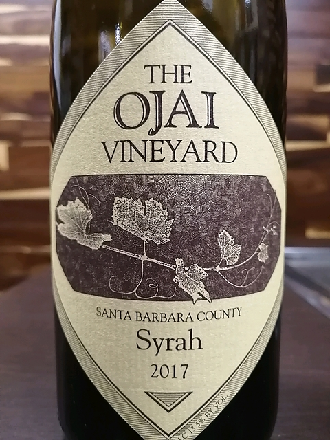 The Ojai Vineyard Santa Barbara County Syrah