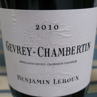 Benjamin Leroux Gevrey Chambertin