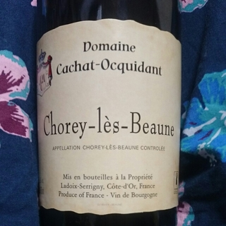 Dom. Cachat Ocquidant Chorey Les Beaune(ドメーヌ・カシャ・オキダン ショレイ・レ・ボーヌ)
