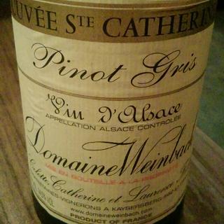Dom. Weinbach Pinot Gris Cuvée Sainte Catherine
