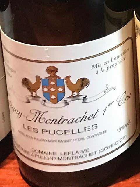 Dom. Leflaive Puligny Montrachet 1er Cru Les Pucelles(ドメーヌ・ルフレーヴ ピュリニー・モンラッシェ プルミエ・クリュ レ・ピュセル)
