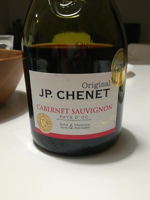 J.P. Chenet Cabernet Sauvignon Pays d'Oc(J.P.シェネ カベルネ・ソーヴィニヨン)