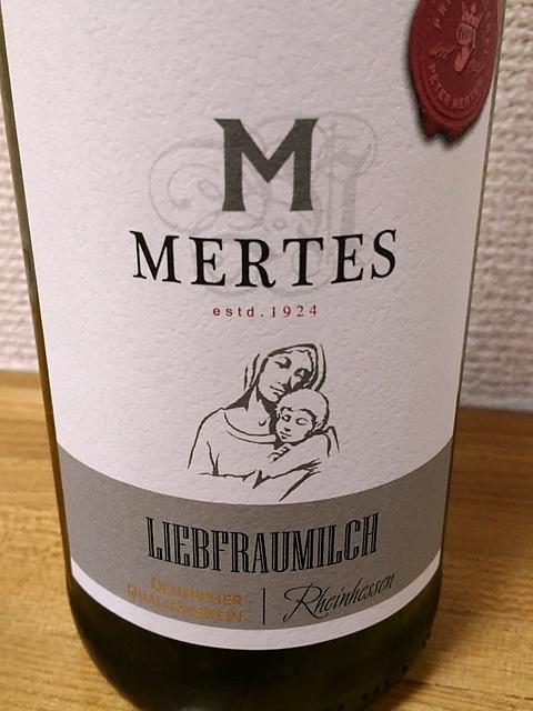 Peter Mertes Liebfraumilch