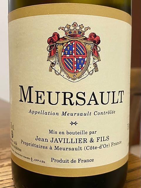 Jean Javillier & Fils Meursault(ジャン・ジャヴィリエ・エ・フィス ムルソー)