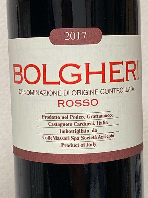 Grattamacco Bolgheri Rosso(グラッタマッコ ボルゲリ・ロッソ)