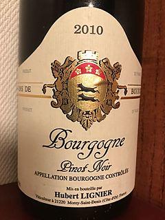 Dom. Hubert Lignier Bourgogne Pinot Noir(ドメーヌ・ユベール・リニエ ブルゴーニュ ピノ・ノワール)
