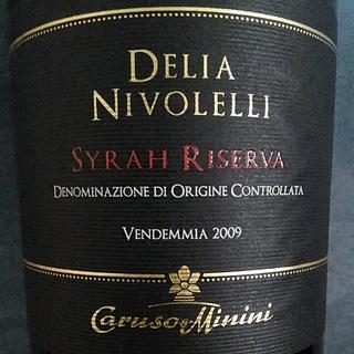 Caruso & Minini Delia Nivolelli Syrah Riserva