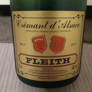Fleith Crémant d'Alsace Brut