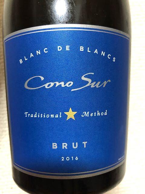 Cono Sur Blanc de Blanc Brut(コノ・スル ブラン・ド・ブラン ブリュット)
