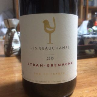 Les Beauchamps Syrah Grenache