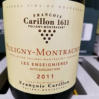 François Carillon Puligny Montrachet Les Enseignieres