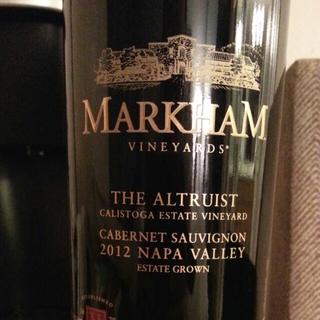 Markham Vineyards The Altruist Cabernet Sauvignon(マーカム・ヴィンヤーズ ジ・アルトゥリスト カベルネ・ソーヴィニヨン)