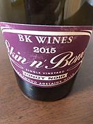 ビーケー・ワインズ スキン・アンド・ボーンズ ピノ・ノワール