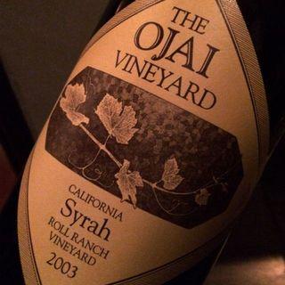 The Ojai Vineyard Syrah Roll Ranch Vineyard