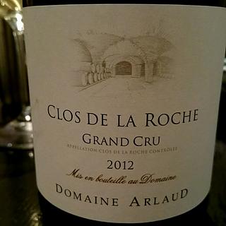 Dom. Arlaud Clos de la Roche Grand Cru