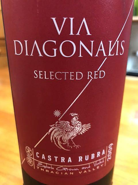 Castra Rubra Via Diagonalis Selected Red(カストナ・ルブラ ヴィア・デアゴナリス セレクテッド・レッド)