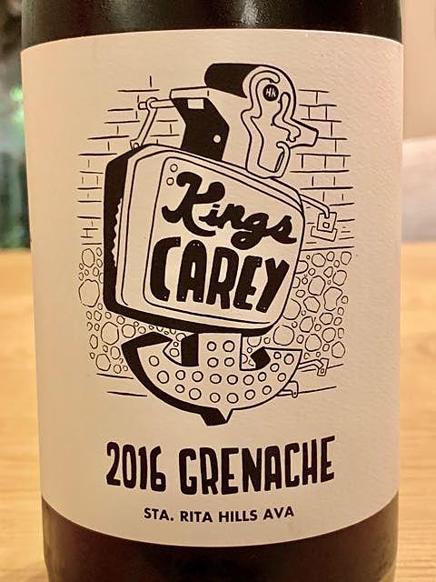 Kings Carey Grenache Spear Vineyards(キングス・キャリー グルナッシュ スピアー・ヴィンヤーズ)