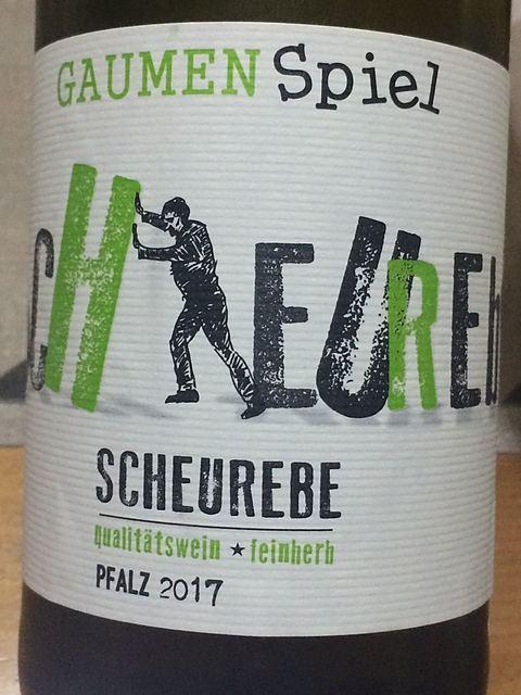GaumenSpiel Scheurebe (Pfalz)