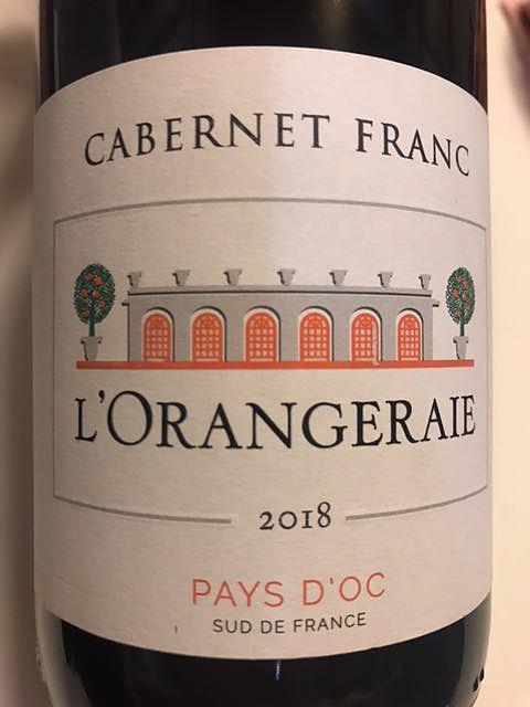 L'Orangeraie Cabernet Franc(ロランジュレ カベルネ・フラン)