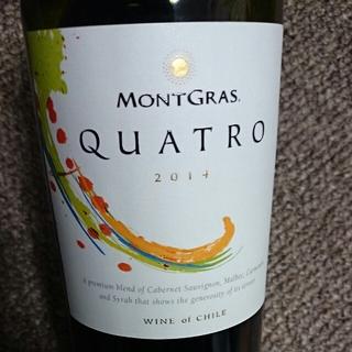 MontGras Quatro Red 2014(モントグラス クアトロ レッド)