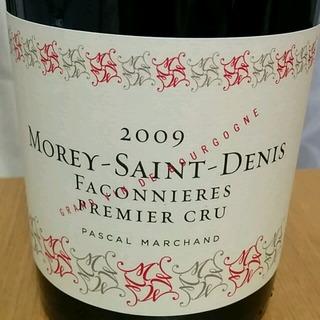Pascal Marchand Morey Saint Denis 1er Cru Faconnieres