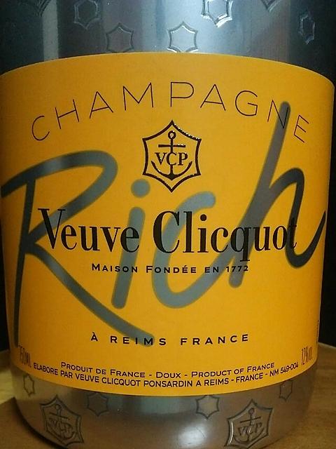 Veuve Clicquot Rich