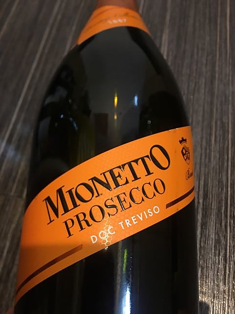 Mionetto Prestige Collection Prosecco Treviso Brut(ミオネット プレステージ・コレクション プロセッコ トレヴィーゾ ブリュット)