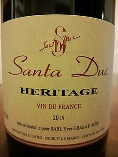 Dom. Santa Duc Heritage(ドメーヌ・サンタ・デュック エリタージュ)