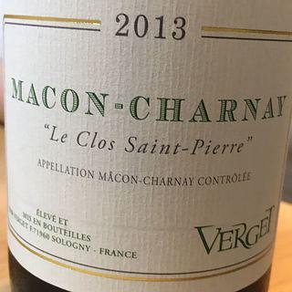 Verget Mâcon Charnay Le Clos Saint Pierre