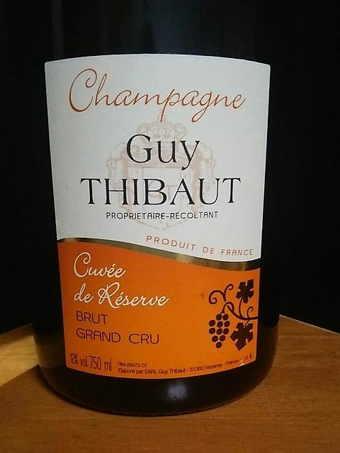 Guy Thibaut Cuvée de Réserve(ギ・チボー ブリュット キュヴェ・ド・リザーヴ)