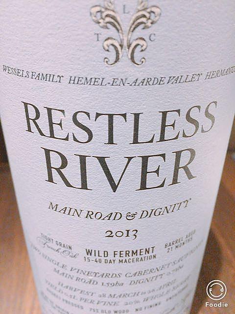 Restless River Cabernet Sauvignon(レストレス・リヴァー カベルネ・ソーヴィニヨン)