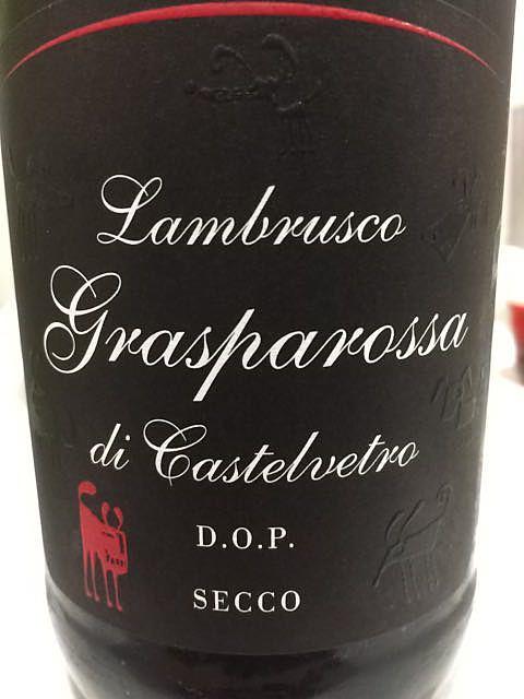 Settecani Lambrusco Grasparossa di Castelvetro Secco(セッテカーニ ランブルスコ グラスパロッサ・ディ・カステルヴェートロ セッコ)