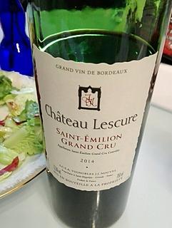 Ch. Lescure Saint Emilion(シャトー・レスキュール サン・テミリオン)